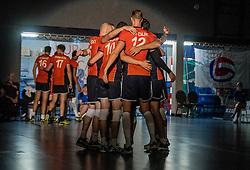 28-08-2016 NED: Nederland - Slowakije, Nieuwegein<br /> Het Nederlands team heeft de oefencampagne tegen Slowakije met een derde overwinning op rij afgesloten. In een uitverkocht Sportcomplex Merwestein won Nederland met 3-0 van Slowakije.
