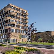 appartementen complex Haagwinde  Lelystad, ontwerp Zaak van NN architecten. Uitvoering Ter Steege Bouw Vastgoed