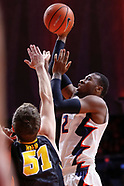 NCAA Basketball - Illinois Fighting Illini vs Iowa Hawkeyes - Champaign, Il