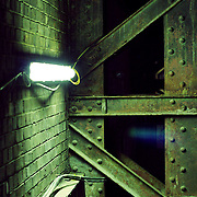 Rusting steelwork, London, England (October 2006)
