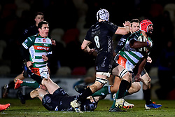Guinness PRO14, Rodney Parade, Newport, UK 06/03/2020<br /> Dragons vs Benetton Rugby<br /> Hame Faiva of Benetton Rugby makes a break<br /> Mandatory Credit ©INPHO/Ryan Hiscott