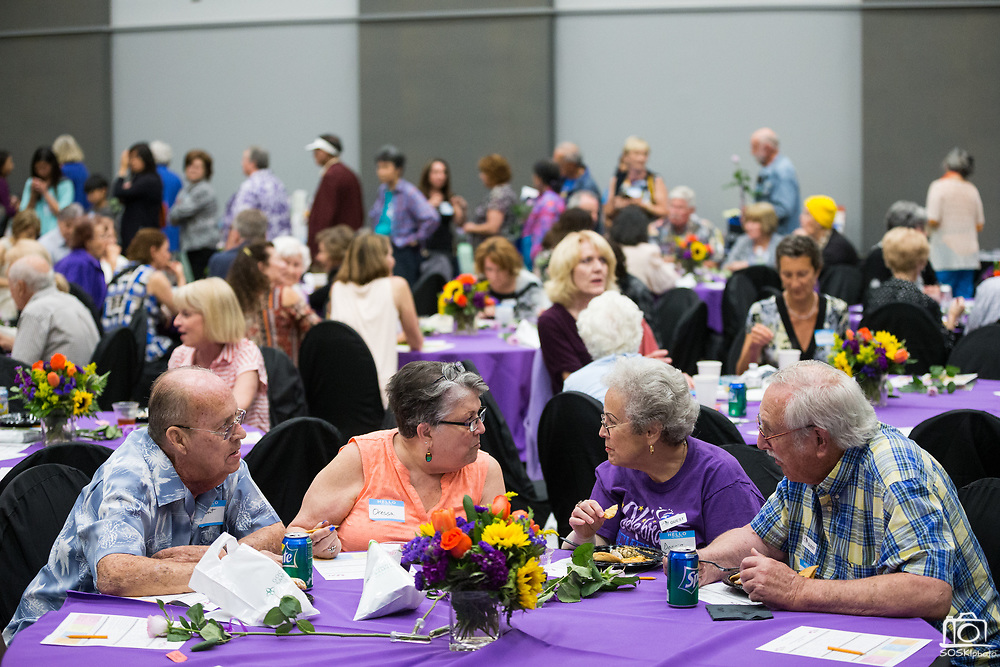 Good Samaritan Hospital hosts their Cancer Survivor Reception at Addison-Penzak Jewish Community Center of Silicon Valley in Los Gatos, California, on June 15, 2017. (Stan Olszewski/SOSKIphoto)