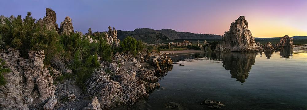 California, Mono Lake, Surreal Sunrise