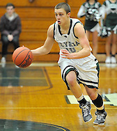Oberlin at Elyria Catholic boys varsity basketball on January 15, 2013. Images © David Richard and may not be copied, posted, published or printed without permission.