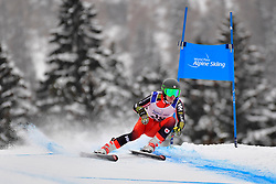 Downhill, GUIMOND Alexis, LW9-1, CAN at the WPAS_2019 Alpine Skiing World Championships, Kranjska Gora, Slovenia