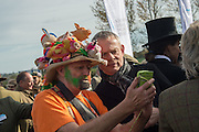 MARTIN CLUNES; , Side-Saddle Dash, Southern Spinal Injuries Trust charity Day. Wincanotn. 25 October 2015.