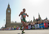 El Amin Chentouf Morrocco IPC winner<br /> <br /> The Virgin Money London Marathon 2014<br /> 13 April 2014<br /> Photo: Tom Lovelock/Virgin Money London Marathon<br /> media@london-marathon.co.ukIPC Race<br /> Meza<br /> <br /> The Virgin Money London Marathon 2014<br /> 13 April 2014<br /> Photo: Tom Lovelock/Virgin Money London Marathon<br /> media@london-marathon.co.uk