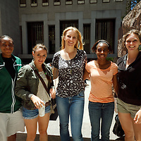 USF WBB Freshmen City Tour