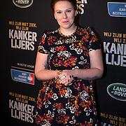 NLD/Amsterdam/20140210 - Filmpremiere Kankerlijers, Coosje Smid
