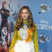 NLD/Amsterdam/20191116 - Filmpremiere Frozen II, Sterre Koning