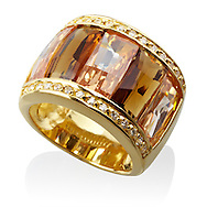 Digitaially imaged gold ring photographed for David & Mina.