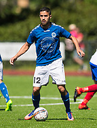 FODBOLD: Samir Abdalas (Jægersborg) under kampen i Danmarksserien mellem Herlev Fodbold og Jægersborg Boldklub den 17. juni 2017 i Herlev Park. Foto: Claus Birch