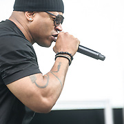 WASHINGTON, DC - July 4, 2015 - LL Cool J performs  at the Foo Fighters 20th Anniversary Blowout at RFK Stadium in Washington, D.C. (Photo by Kyle Gustafson / For The Washington Post)