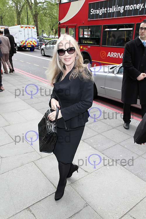 LONDON - MAY 17: Lynsey de Paul attends the 'Ivor Novello Awards' at the Grosvenor House Hotel, London, UK. May 17, 2012. (Photo by Richard Goldschmidt)