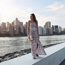 """Hana Nitsche releases a photo on Instagram with the following caption: """"The best city in the world. \u2764\ufe0f\ud83d\uddfd\ud83c\uddfa\ud83c\uddf8Celebrating almost 6 Years here !!! As a little girl already I had this huge fascination for the city of lights. I still remember the rush and magic I felt when walking through the streets for the first time. I always had the dream to visit it and see it with my own eyes but I could have never imagined to actually call this crazy amazing place my home some day!! I learned the most here, got pushed outside my comfort box, I fought the greatest battles, faced the greatest challenges but yet I don't want to miss any second of it. It made me who I am, I learned so many new things, also about myself and found strength where I didn't think I would have it. This city really made me!! I totally get now why they say \"""". Photo Credit: Instagram *** No USA Distribution *** For Editorial Use Only *** Not to be Published in Books or Photo Books ***  Please note: Fees charged by the agency are for the agency's services only, and do not, nor are they intended to, convey to the user any ownership of Copyright or License in the material. The agency does not claim any ownership including but not limited to Copyright or License in the attached material. By publishing this material you expressly agree to indemnify and to hold the agency and its directors, shareholders and employees harmless from any loss, claims, damages, demands, expenses (including legal fees), or any causes of action or allegation against the agency arising out of or connected in any way with publication of the material."""