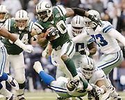 Dallas cowboy vs New York Jets, Thanksgiving day football.  November 22, 2007.  Photo By Tom Turner