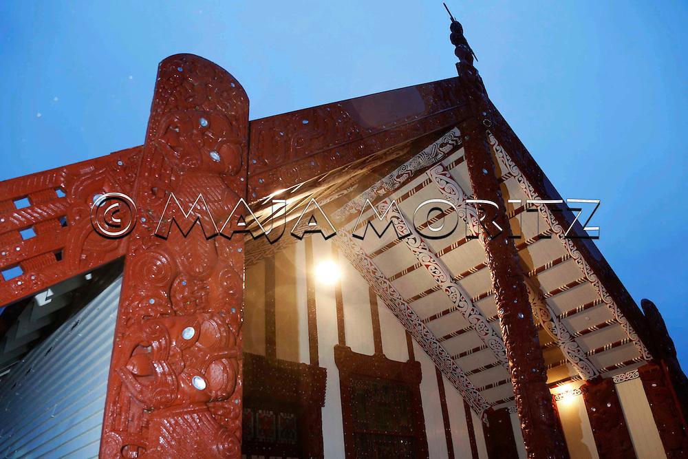 Paul Tapsell's Marae in Rotorua, Te Papaiouru Marae, Ohinemutu, Rotorua, New Zealand