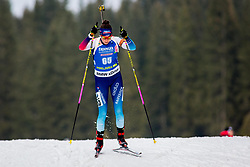 Aita Gasparin (SUI) during Women 15km Individual at day 5 of IBU Biathlon World Cup 2018/19 Pokljuka, on December 6, 2018 in Rudno polje, Pokljuka, Pokljuka, Slovenia. Photo by Ziga Zupan / Sportida