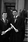 1963 - Conferring of degrees at UCD, Dublin