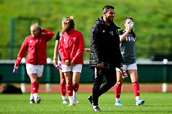 Marco Chiavetta prior to kick off - Mandatory by-line: Ryan Hiscott/JMP - 29/09/2019 - FOOTBALL - SGS College Stoke Gifford Stadium - Bristol, England - Bristol City Women v Chelsea Women - FA Women's Super League
