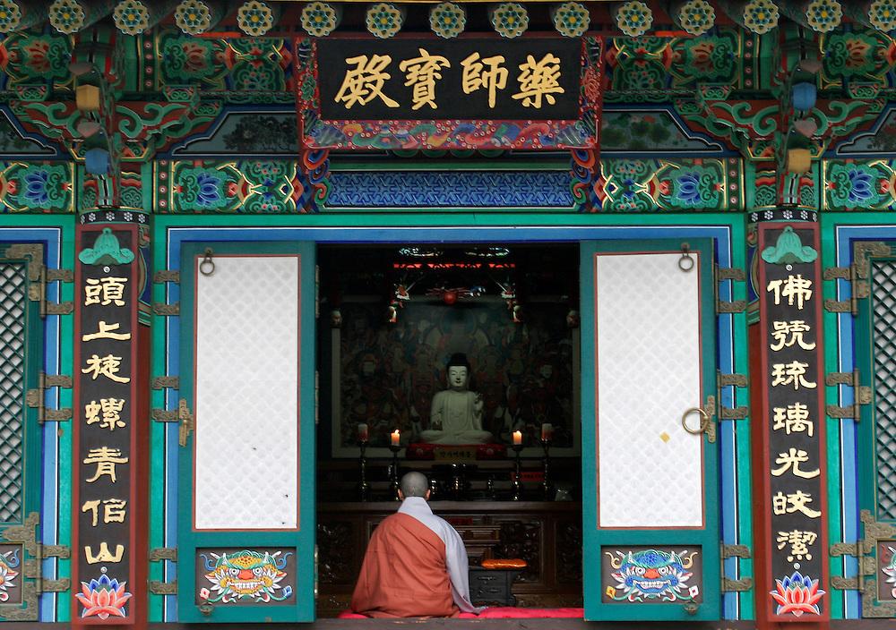 Bhuddist Temple, Suwon, Korea. 2007