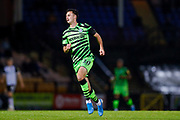 Forest Green Rovers Aaron Collins(10) in action  during the EFL Sky Bet League 2 match between Port Vale and Forest Green Rovers at Vale Park, Burslem, England on 20 August 2019.