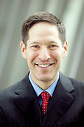 Dr. Thomas R. Frieden is the new Director of the U.S. Centers for Disease Control and Prevention. He poses for a portrait outside of the Tom Harkin Global Communications Center in Atlanta, Georgia August 21, 2009.