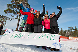 Spectators, NOR, Biathlon Pursuit, 2015 IPC Nordic and Biathlon World Cup Finals, Surnadal, Norway