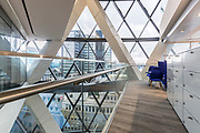Global Insurance company office in St Mary Axe, London, for Burtt-Jones and Brewer