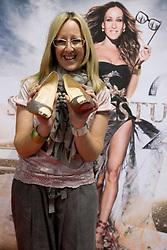 Nagrajenka Metka s cevlji Louboutin na premieri filma Seks v mestu 2, 2. junija 2010, v Koloseju, BTC, Ljubljana, Slovenija. (Photo by Vid Ponikvar / Sportida)