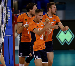 01-06-2014 NED: WLV Nederland - Zuid Korea, Eindhoven<br /> Thijs ter Horst, Thomas Koelewijn