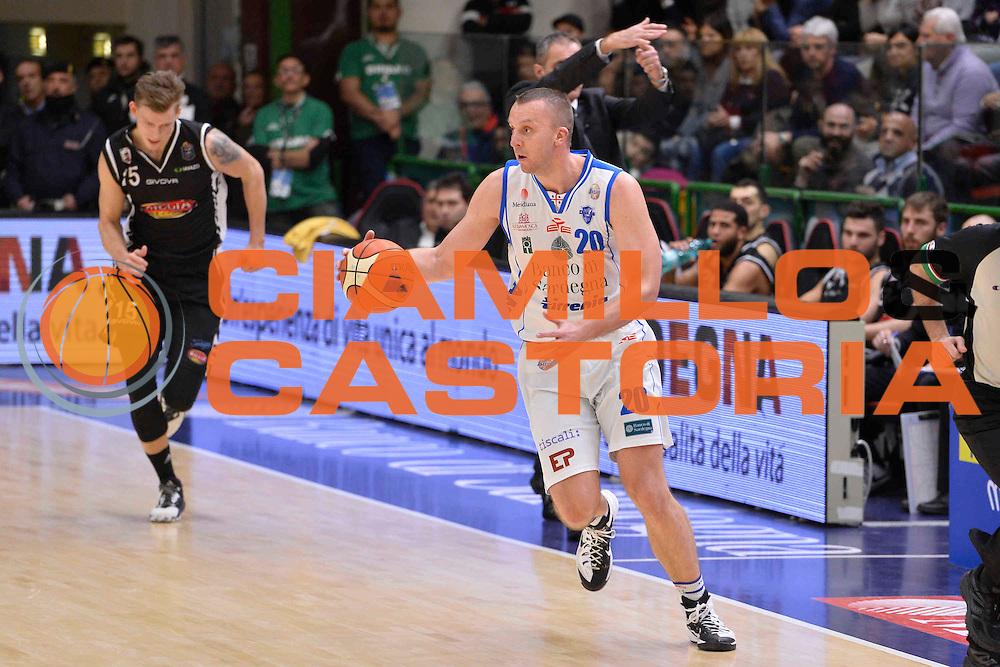 SASSARI 08 GENNAIO 2017<br /> LegaBasket Serie A 2016/2017<br /> Dinamo Banco di Sardegna Sassari - Pasta Reggia Juve Caserta<br /> NELLA FOTO Dusko Savanovic<br /> FOTO CIAMILLO