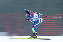 10.03.2016, Holmenkollen, Oslo, NOR, IBU Weltmeisterschaft Biathlion, Oslo, 20km, Herren, im Bild Simon Fourcade (FRA) // during Mens 20km individual Race of the IBU World Championships, Oslo 2016 at the Holmenkollen in Oslo, Norway on 2016/03/10. EXPA Pictures © 2016, PhotoCredit: EXPA/ Newspix/ Tomasz Jastrzebowski<br /> <br /> *****ATTENTION - for AUT, SLO, CRO, SRB, BIH, MAZ, TUR, SUI, SWE only*****