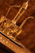 Brass coffee set<br />