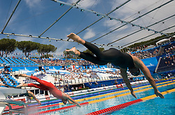 Peter Mankoc of Slovenia competes during the Men's 100m Butterfly Heats during the 13th FINA World Championships Roma 2009, on July 31, 2009, at the Stadio del Nuoto,  in Foro Italico, Rome, Italy. (Photo by Vid Ponikvar / Sportida)