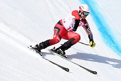 SCHORNSTEIN Kirk LW6/8-1 CAN competing in the Para Alpine Skiing Downhill at the PyeongChang2018 Winter Paralympic Games, South Korea