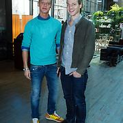 NLD/Amsterdam/20130916 -  Modeshow Jos Raak in het Conservatorium hotel, Ferry Doedens en Guido Spek