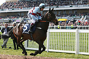 3.00pm The Doom Bar Maghull Novices' Steeple Chase (Grade 1) 2m during the Grand National Meeting at Aintree, Liverpool, United Kingdom on 6 April 2019.