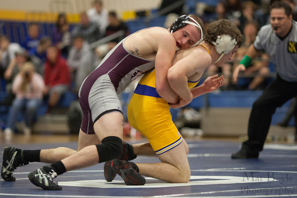 Thaddeus Stevens College of Technology wrestles Gloucester County College as Gloucester County College Wrestling hosts the Chuck Williamson Quad Match in Sewell, NJ on Saturday December 1, 2012. (photo / Mat Boyle)