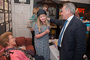 MARY KILLEN; PETER MCKAY, Elliott and Thompson host a book launch of How the Queen can Make you Happy by Mary Killen.- Book launch. The O' Shea Gallery. St. James's St. London. 20 June 2012.
