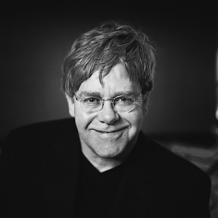 Sir Elton John at The ST. Martins Lane Hotel, London 2001