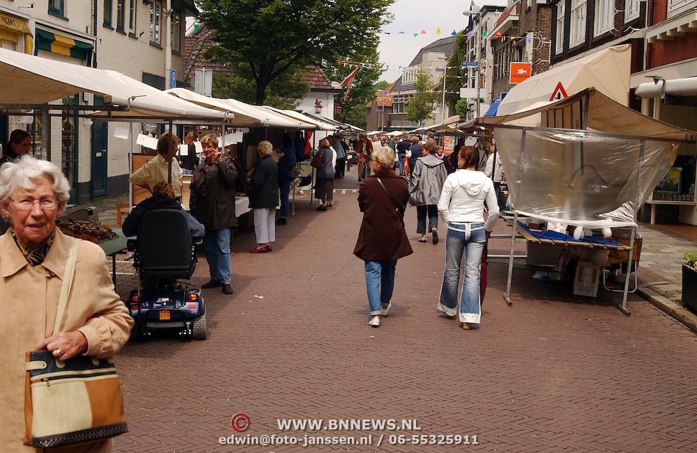 Kunstmarkt Spiegelstraat Bussum