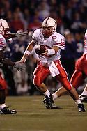 Nebraska quarter back Zac Taylor in action against Kansas State at Bill Snyder Family Stadium in Manhattan, Kansas, October 14, 2006.  The Huskers beat the Wildcats 21-3.<br />