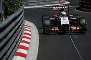 May 24, 2014: Monaco Grand Prix: Sergio Perez (MEX), Force India-Mercedes