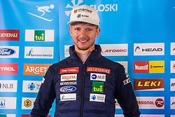 Klemen Kosi at media day of Ski Association of Slovenia before new winter season 2018/19, on October 4, 2018 in Ski resort Pohorje, Maribor, Slovenia. Photo by Grega Valancic / Sportida