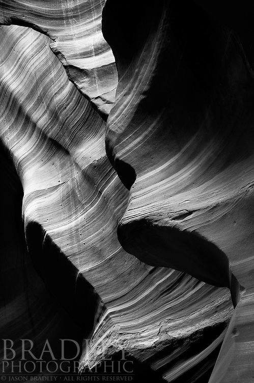 Slot canyon in Northern Arizona