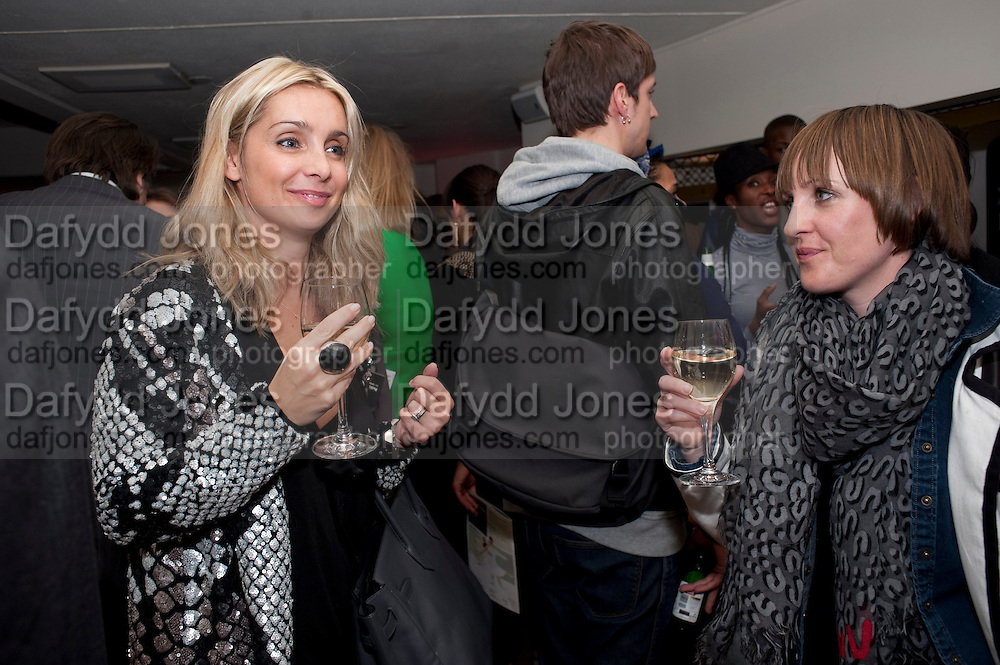 LOUISE REDKNAPP; SIAN CONNOLLY, Party after the opening of Blaze, at the Peacock Theatre. Peacock Theatre<br /> Portugal Street. London WC2. 16th March 2010.