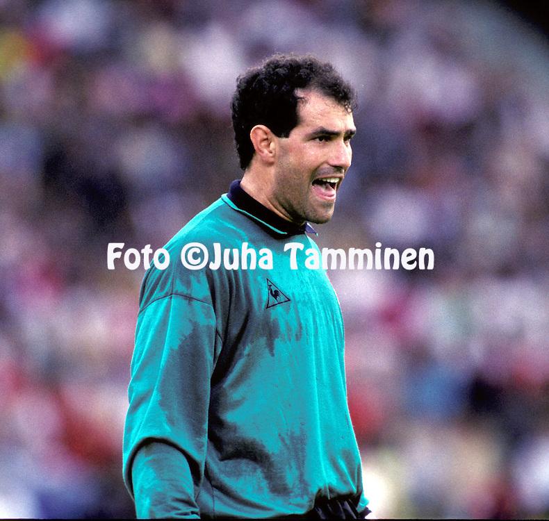 FIFA World Cup - Italia 1990.Andoni Zubizarreta - Spain.©JUHA TAMMINEN