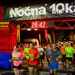 20170708: SLO, Athletics - Nocna 10ka 2017, run around Bled's lake