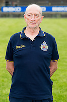 Waasland-Beveren's power coach Maurits Van Damme poses during the 2015-2016 season photo shoot of Belgian first league soccer team Waasland-Beveren, Tuesday 07 July 2015 in Beveren-Waas.